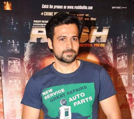 Emraan Hashmi At The Promotion Of Rush