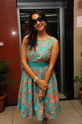 Lakshmi Prasanna Pose For Camera At Denikaina Ready Premiere Show