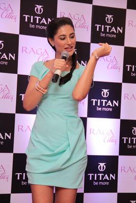 Nargis Fakri Unveils Cities Watch Collection From Titan Raga