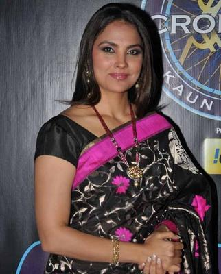 Lara Dutta At Kids Special Episode Of KBC