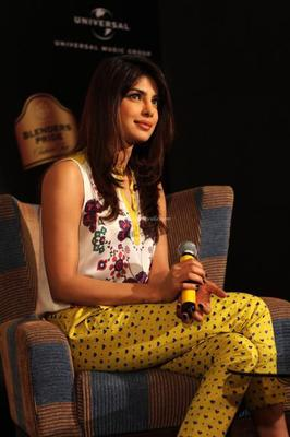 Priyanka Promotes Her Debut Single In My City At Blenders Pride Fashion Tour