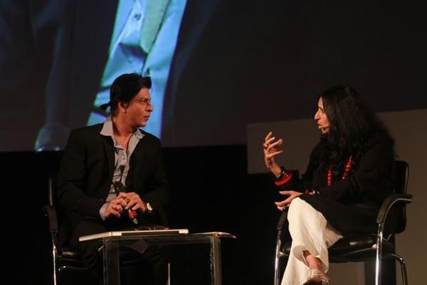 Shahrukh Khan At Airtel Think 2012
