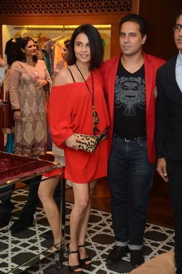 Celebs At Shantanu And Nikhil Designer Store Launch