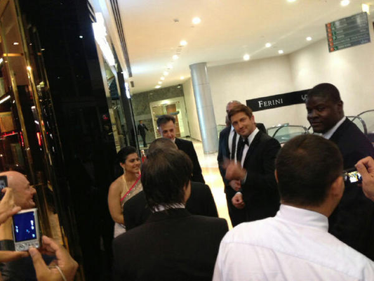 Kajol And Gerard With The Guest At The Launch Of The Roger Dubuis Boutique