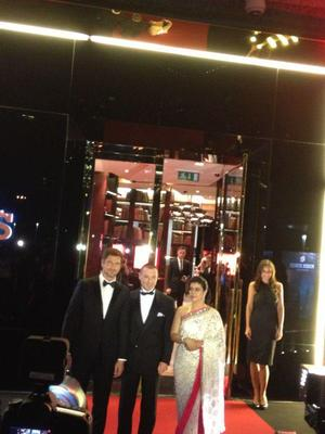 Kajol,Gerard And Jean Marc Attend The Roger Dubuis Boutique Opening Event