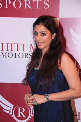 Tabu Hot Look At Dhoni Bike Racing Launch