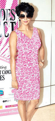 Celebs At The Heroes Project Event A Breast Cancer Awareness Programme