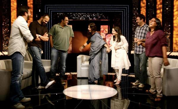 Celebs At The Front Row With Anupama Chopra For Diwali Special