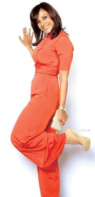 Bollywood Celebs In Tangerine Tango Dress