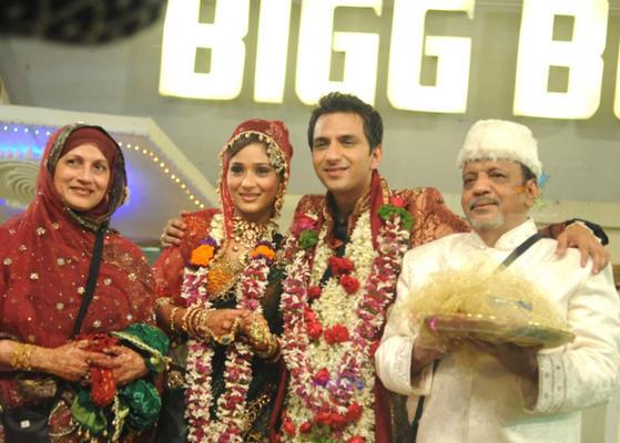 Sara And Alis Wedding Photo From Bigg Boss Season 4