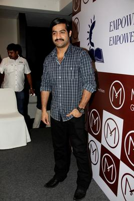 Jr Ntr Stylish Look Photo At Malabar Gold And Dimond Launch Event