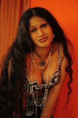 Sirisha Bold Still From O Aunty Katha Movie