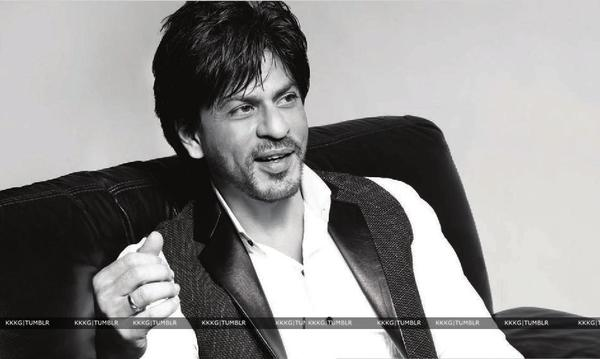 Shahrukh Khan Smiling Photo Shoot For Le City Delux India December 2012
