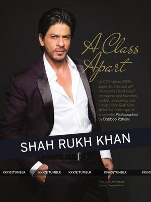 Shahrukh Smart Look Shoot On The Cover Of Le City Delux India December 2012