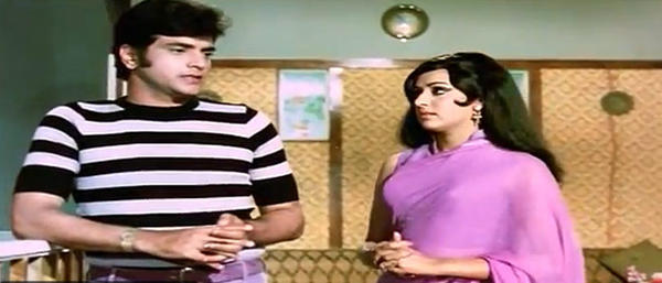 Hema Malini Nice Look Still In Gehri Chaal Movie