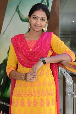 Lakshmi Menon Trendy Looking Photo Still At Gajaraju Press Meet