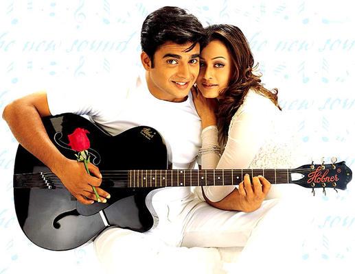 R. Madhavan And Namrata Shirodkar In Dil Vil Pyar Vyar Movie Wallpaper