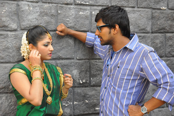 Haripriya And Varun Awesome Photo Still At Abbai Class Ammai Mass Movie Location