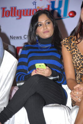 Madhavi Latha Snapped At Crescent Cricket Cup 2012 Press Meet