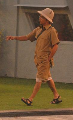 Vrajesh Hirjee In Khaki From Bigg Boss 6 Modern House