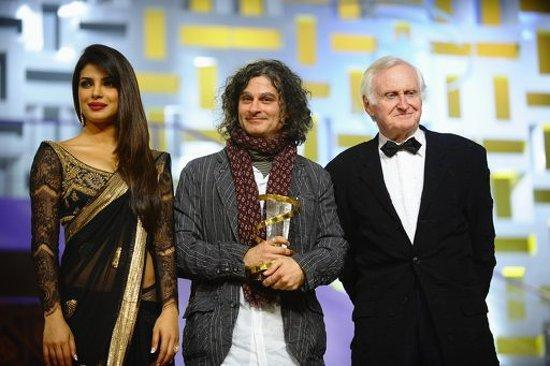 Pryianka,Ziad And John Posed For Camera At The Marrakech Film Festival