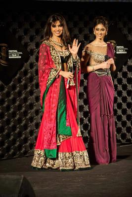 Priyanka And Ileana At Marrakech Film Festival To Promote Barfi