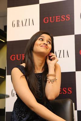 Alia Bhatt At Launch Of Grazia Magazine Party