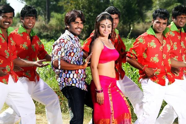 Srinivas And Aksha Dancing Still From Rye Rye Movie
