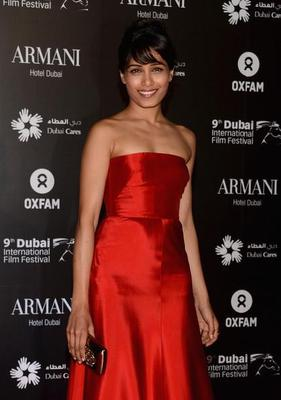 Freida Pinto At A Charity Gala At The Dubai International Film