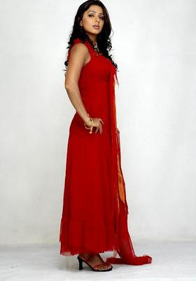 Bhumika Chawla Photo Shoot In Red Dress