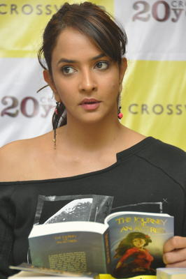 Lakshmi Prasanna Launch The Book The Journey Of An Actress At Cross Word Store