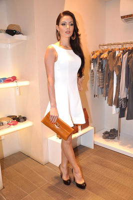 Mia Uyeda at Marc Cain Store in Juhu