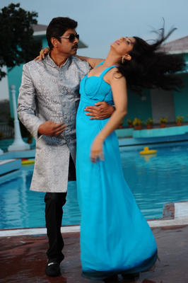 Jagapathi And Bhumika Latest Photo Stills From Movie April Fool