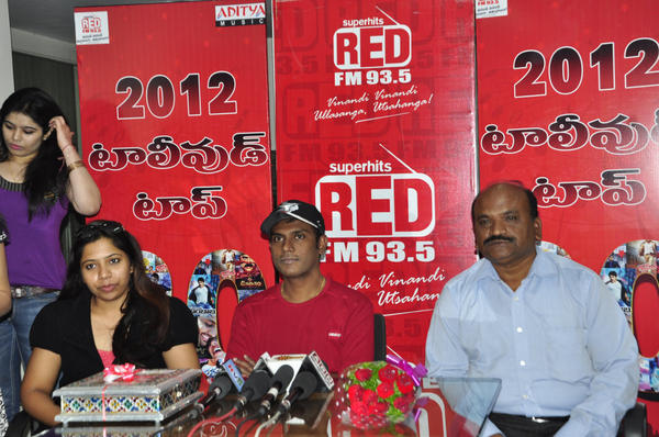 Anup Rubens At Red FM 93.5 Event