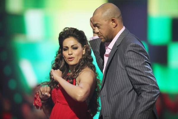Bipasha Basu Danced With Andrew Symonds At CCL 3 Glam Night Party