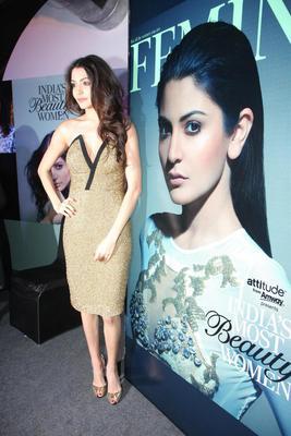 Anushka Launch The Femina India Most Beautiful Women Issue
