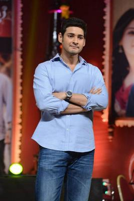 Mahesh Babu Make An Apperarance At SVSC Triple Platinum Disc Function