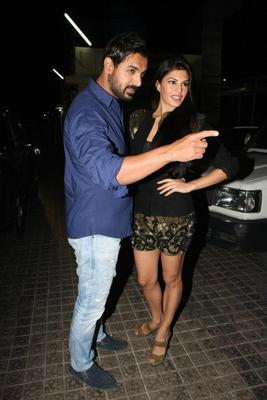 John And Jacqueline At Premiere Of Film Race 2