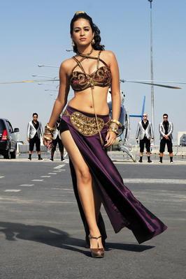 Telugu Movie Rey Latest Hot Stills