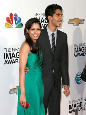 Freida Pinto And Dev Patel At The 44th NAACP Image Awards 2013