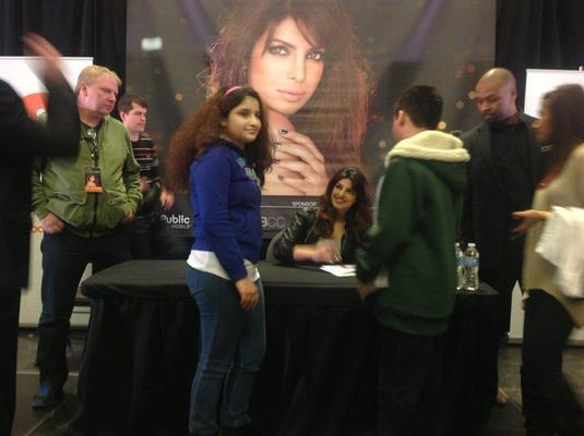 Priyanka Chopra Spotted At Bramalea City Centre For Promoting In My City