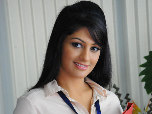 Radhika Kumaraswamy Cute Smiling Look Still From Sweety Nanna Jodi Movie