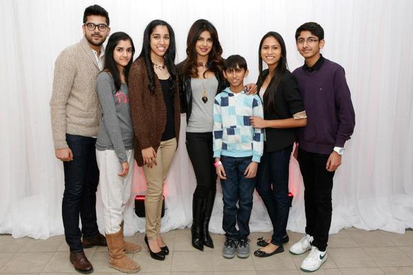 Priyanka Chopra And Her Fans Clicked At Bramalea City Center