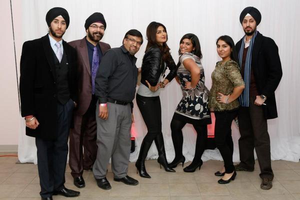 Priyanka Chopra Strikes A Pose With Her Fans At Bramalea City Center