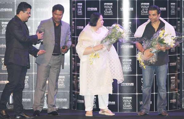 Pamela Chopra And Uday Chopra Graced At Yash Chopra Statue Unveiling Event