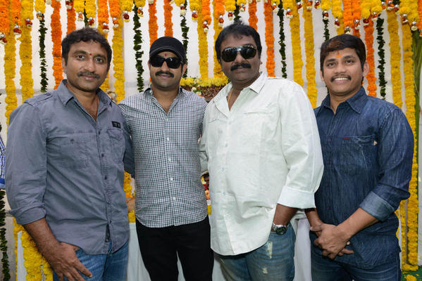 Jr NTR Santosh Srinivas Movie Launch Photos