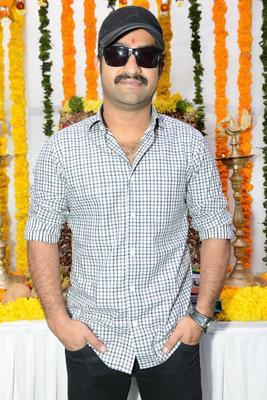 Jr. NTR Nice Photos At Jr NTR Santosh Srinivas Movie Launch Event