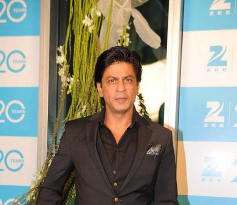 Shahrukh Smart Looking Photo Clicked At 20th Anniversary Bash Of ZEE TV