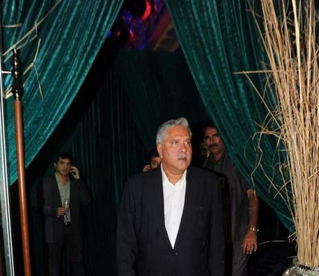 Vijay Mallya Arrived At 20th Anniversary Bash Of ZEE TV