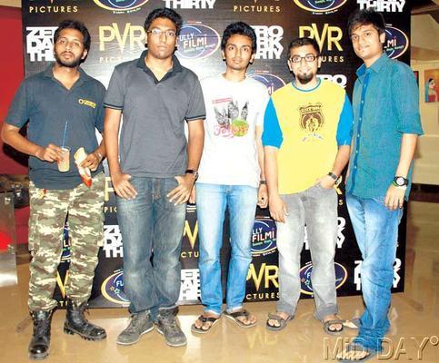 Bollywood Stars At A Screening Of Zero Dark Thirty